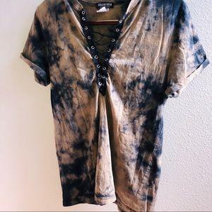 FashIon Nova Tied Up Shirt